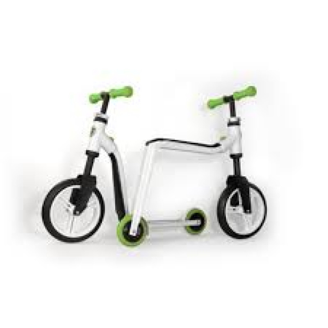 trottinette v lo sans p dales highwayfreak white green sportmania. Black Bedroom Furniture Sets. Home Design Ideas