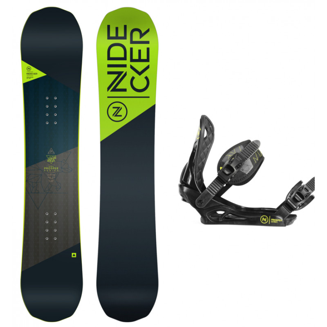 27c4d8ea1b0 Snowboard Pack Boy Nidecker Prosper + Bindings | Buy snowboard ...