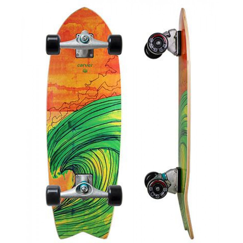 "Surf skate Carver Swallow Complete 29"" with C7 trucks ..."