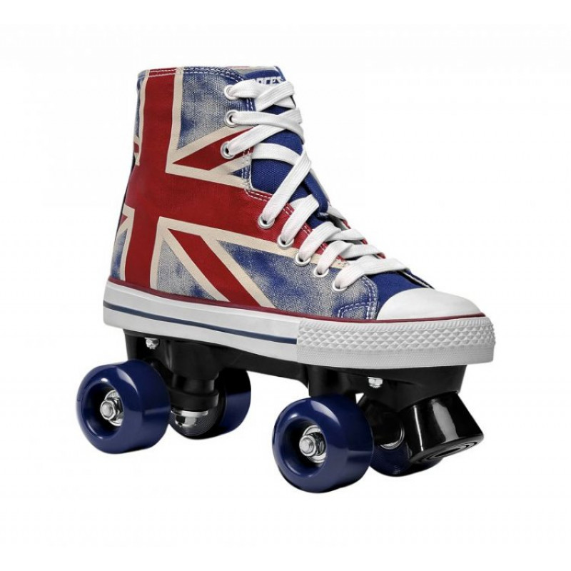 roces chuck roller skates quads union jack online. Black Bedroom Furniture Sets. Home Design Ideas