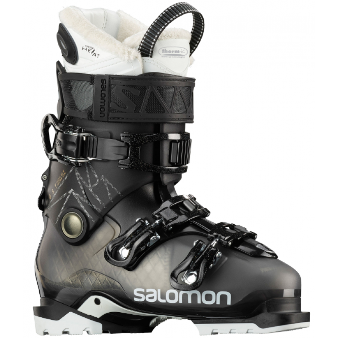 Skischuhe Damen mit Heiztechnologie SALOMON QST Access 80 Ccustom Heat 2020