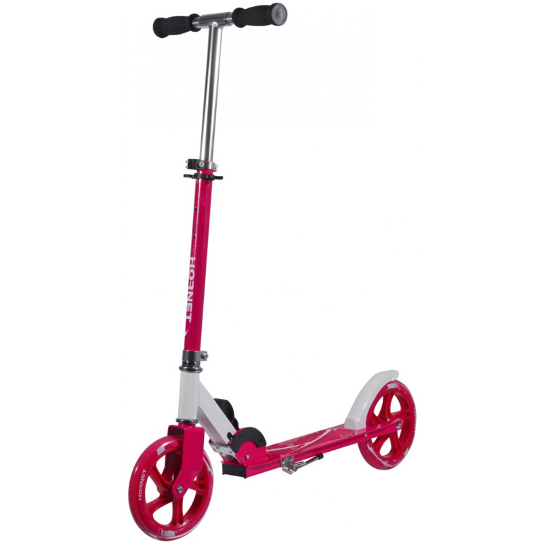 hudora scooter hornet 205 big wheels foldable pink sportmania. Black Bedroom Furniture Sets. Home Design Ideas