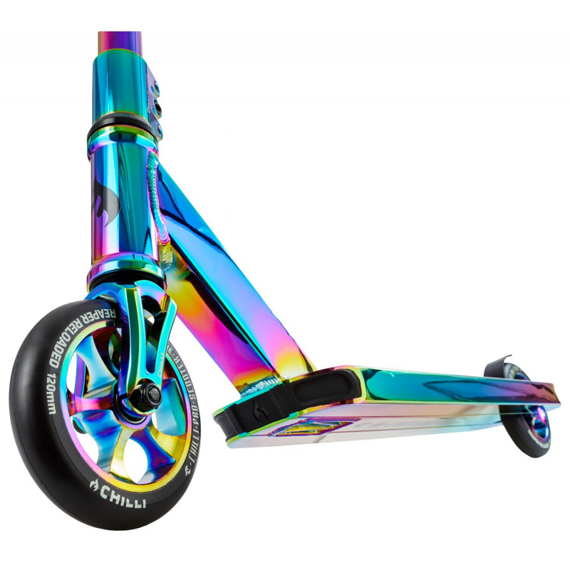 Stuntscooter Chilli Pro Scooter Reaper Reloaded Rainbow